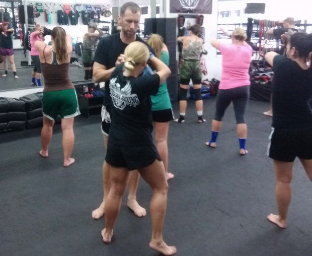 Womens Self Defense Class Pacific Beach San Diego