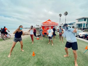 Beachside Boxing Fitness Class Picture