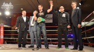 Dave Nielsen presented with his WBC Cruiserweight Title Belt