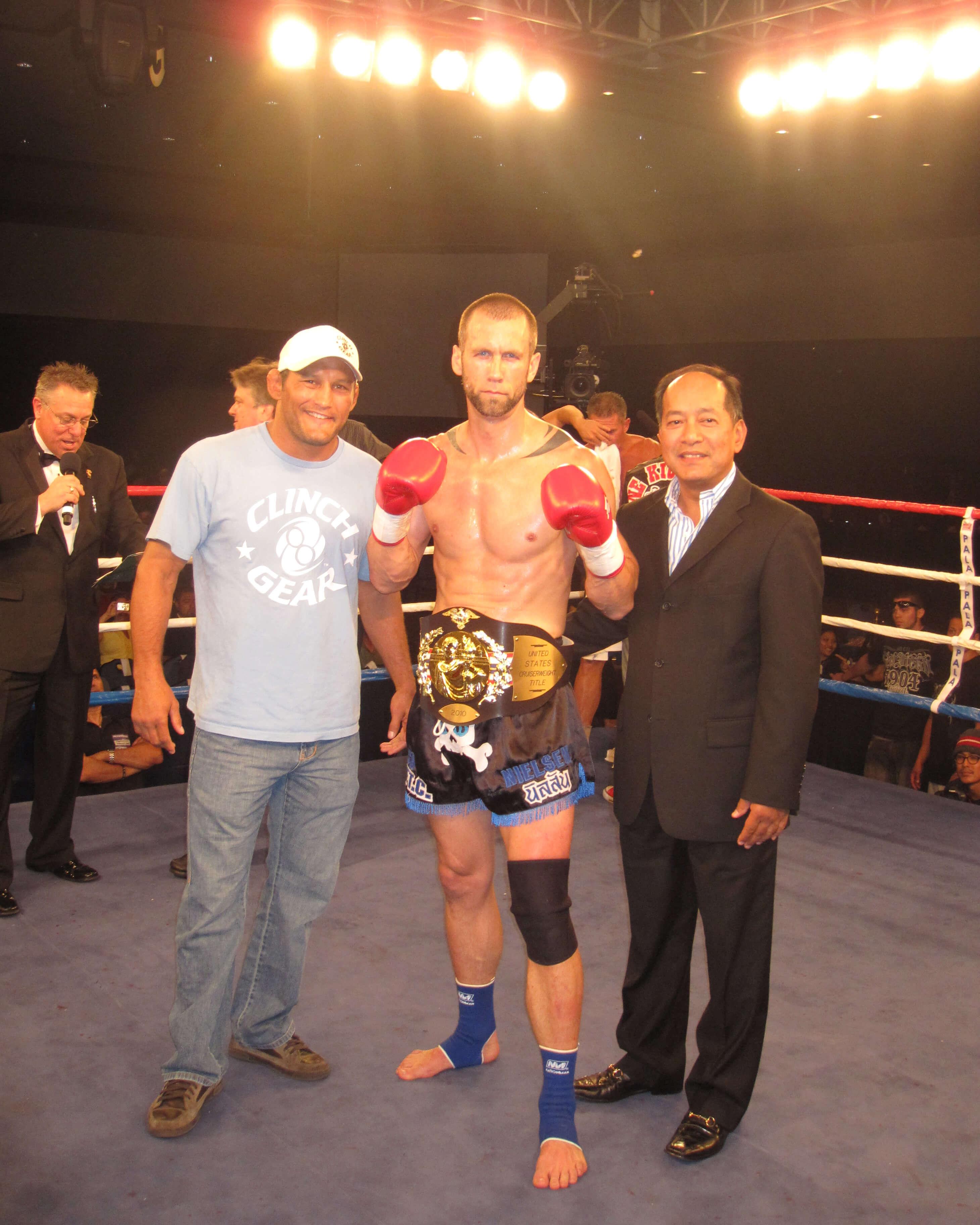 Dave Nielsen US Muay Thai Champion