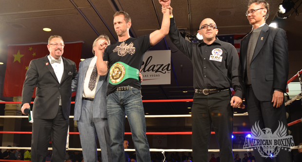 Dave Nielsen WBC Muay Thai Champion
