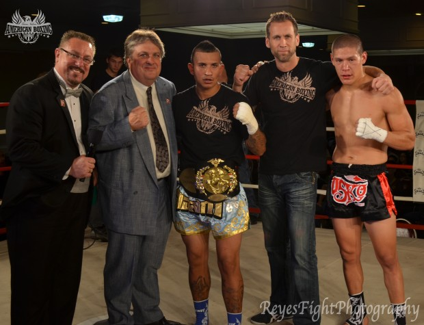 Team Nielsen American Boxing fighter and Muay Thai Champion Francisco Garcia