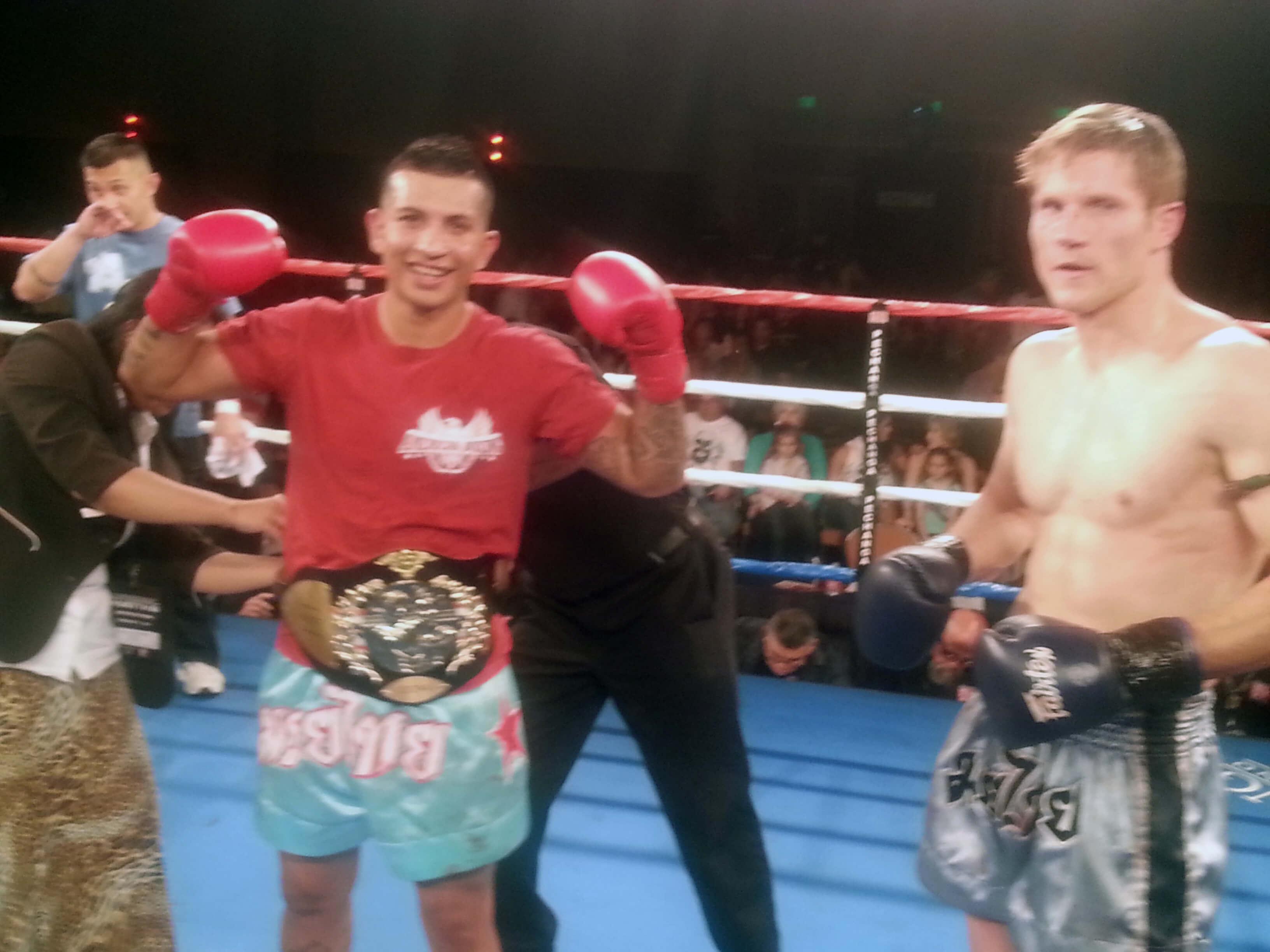 Team Nielsen Fighter Francisco Garcia Muay Thai Champion