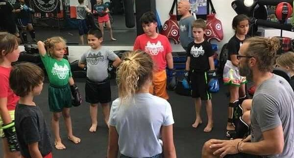 kids muay thai martial artsclass photo american boxing in pacific beach